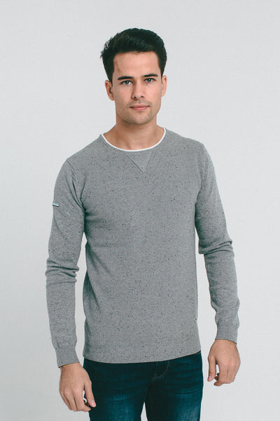 ANDY SWEATER PEBBLE MELANGE