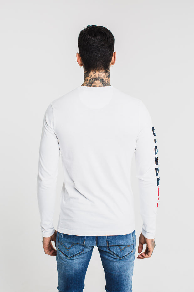 QUENTIN LS TEE OPTIC WHITE