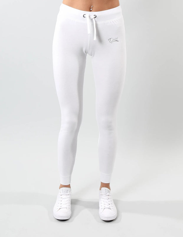 GABBY SLIM TRACKPANTS OPTIC WHITE