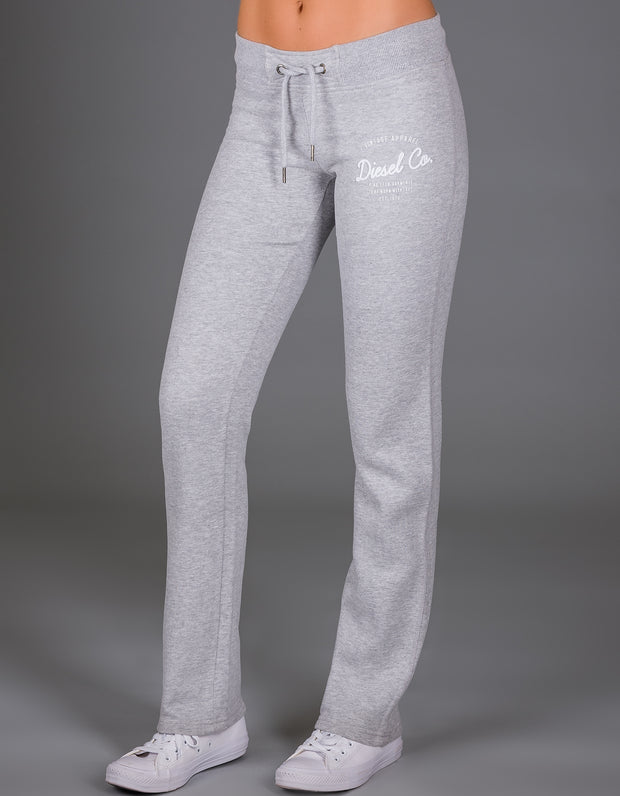 BRENDA TRACKPANTS PEBBLE MELANGE