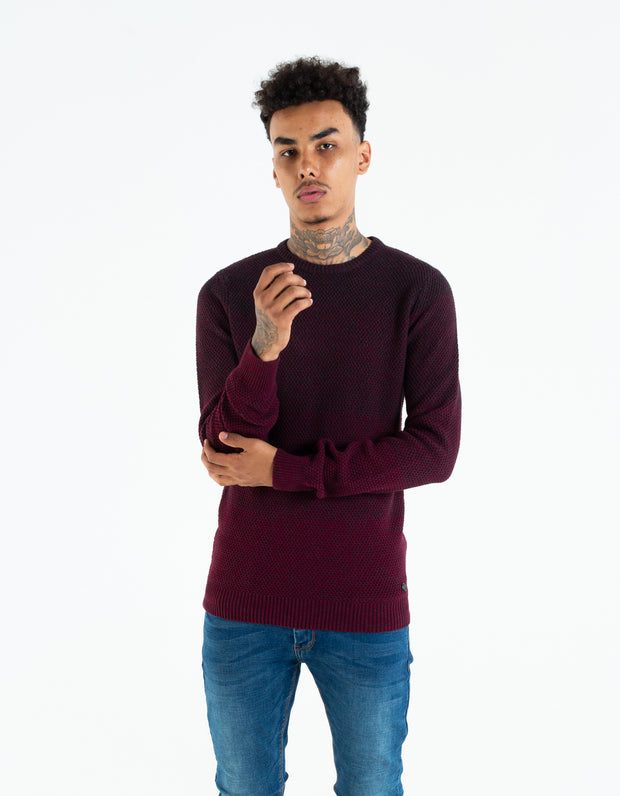 MURRAY KNIT RUBY WINE MEL