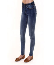 DINAH CLASSIC SKINNY MEDIUM BLUE WASH