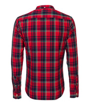 CHRISTIAN CHECK L/S SHIRT RED CHECK