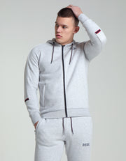Glynn Zipper Grey