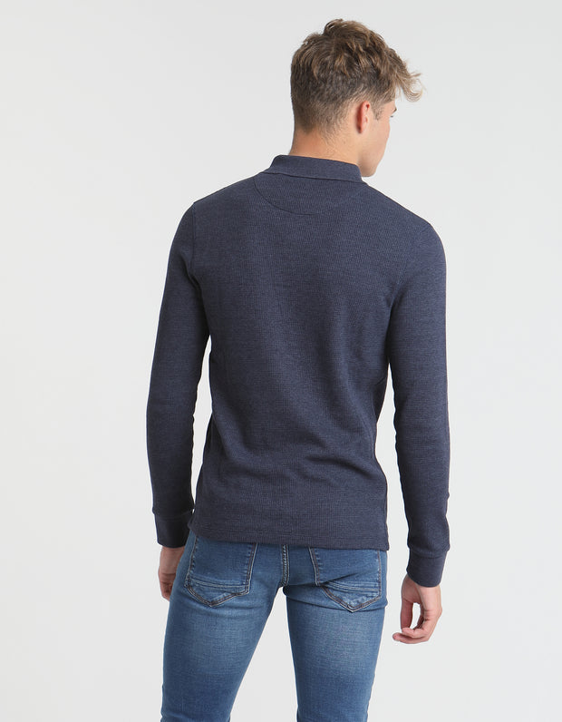 IAN LS TOP PURE NAVY