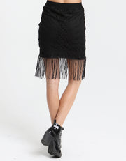 Vessie Skirt JET BLACK