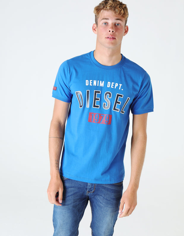 DALLAS TEE SNORKEL BLUE