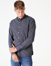 CYRUS L/S SHIRT PURE NAVY