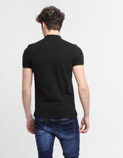 IDRIS BASIC POLO BLACK