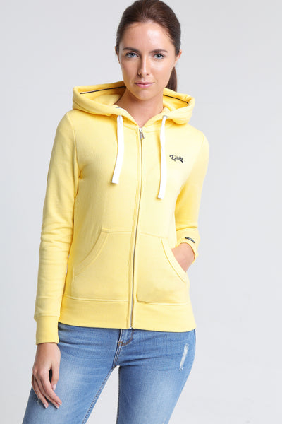 SAAR ZIP YELLOW CREAM MEL