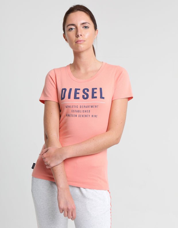 ISABELLA TEE BURNT CORAL
