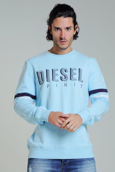 THOMAS SWEATER COOL BLUE