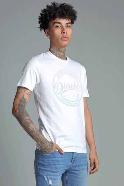 ARAN TEE OPTIC WHITE