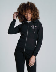 Charlize Zipper Black
