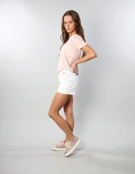 MARTHA SHORTS OPTIC WHITE