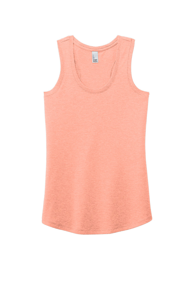 Idaho Mandala Tank - Heathered Dusty Peach