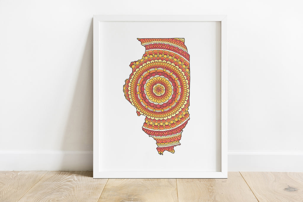 Illinois Mandala
