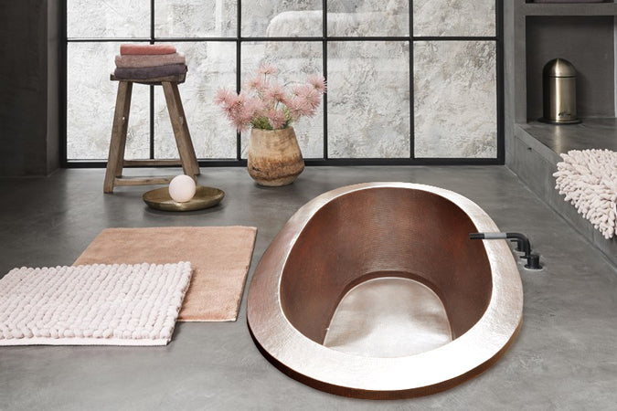 Rose Copper: Color Tendencia en Baños