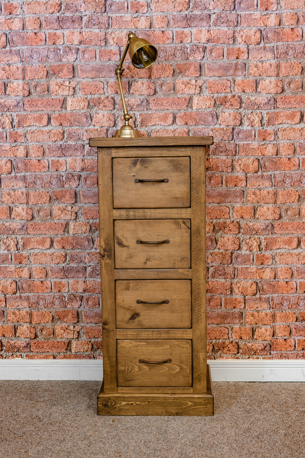 Boss 4 Drawer Wellington Chest