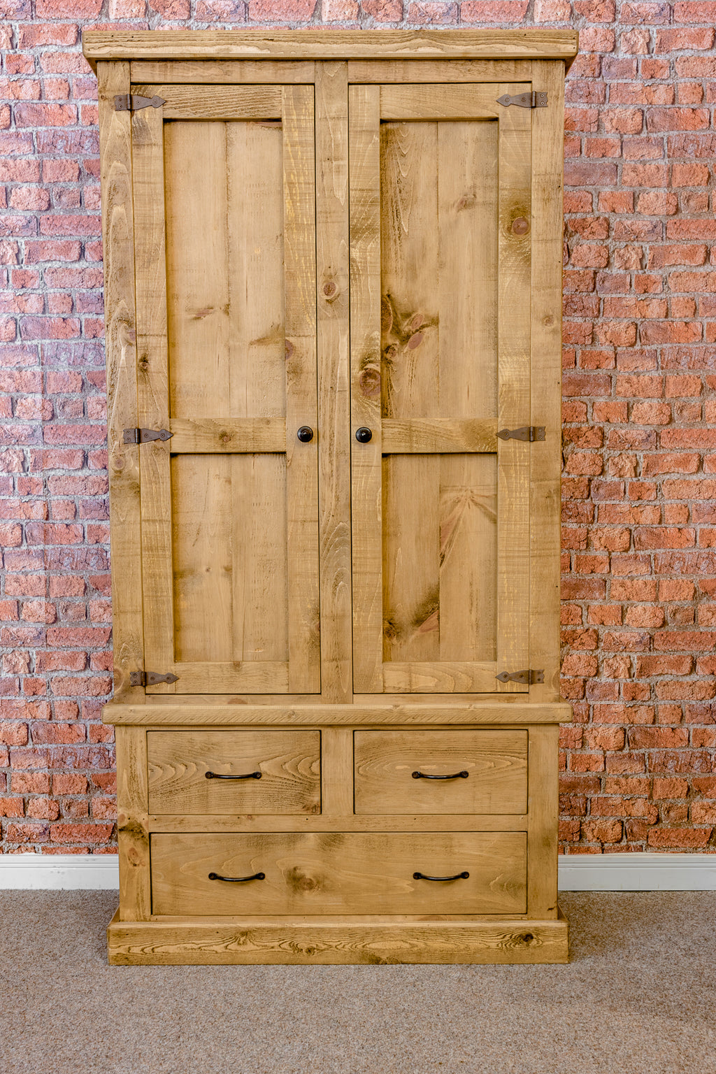 Boss 2 Door Wardrobe with Drawers
