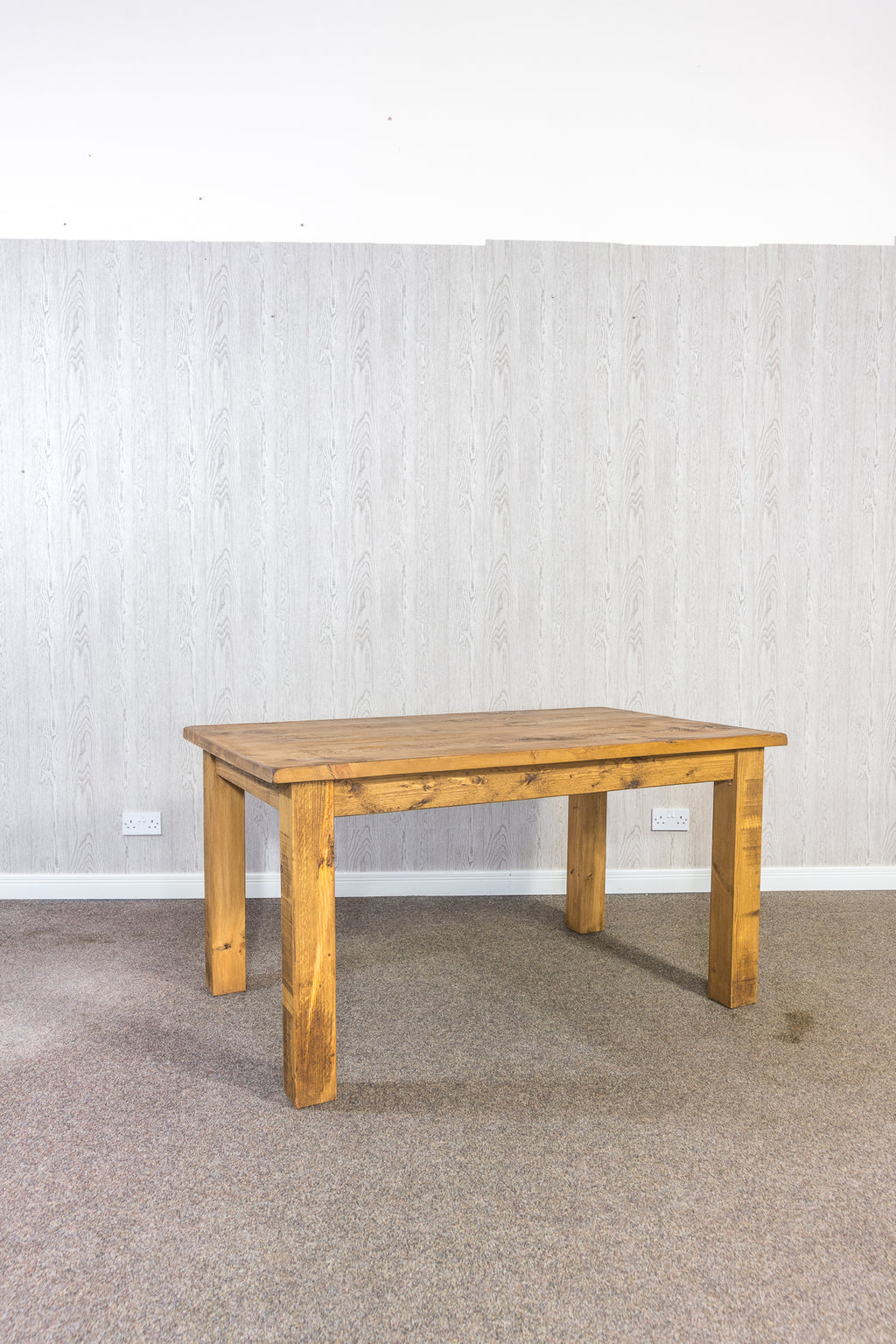 "Boss Dining Table with 4"" Legs"