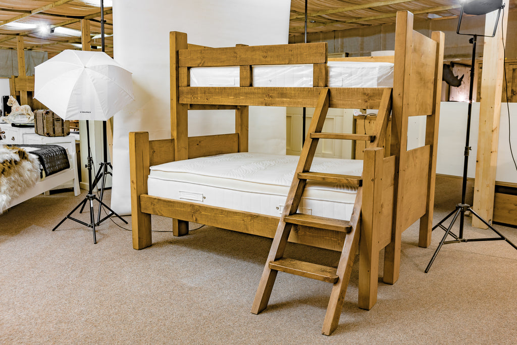Boss Double Bunk Bed with Fixed Ladder