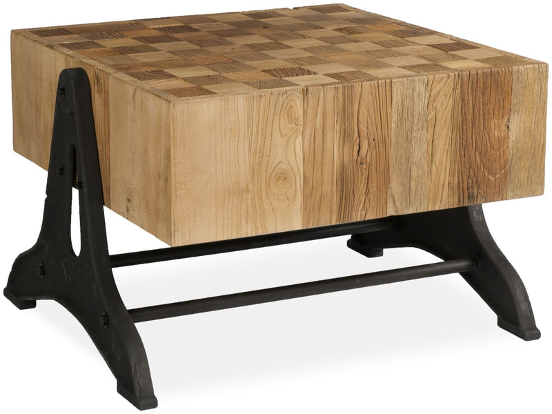 Tuscany Chunky Coffee Table with Iron legs