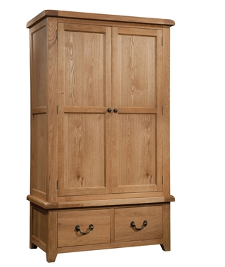 Dorset Gents Wardrobe with 2 Drawers