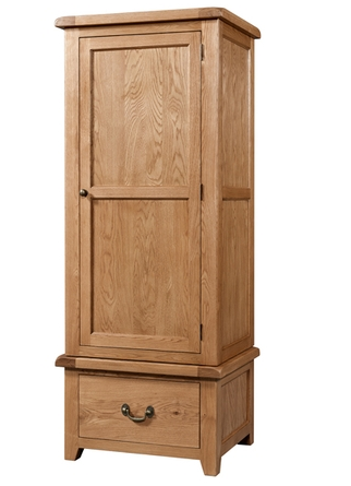 Dorset Single Wardrobe with Drawer