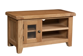 Dorset Compact 3 Drawer Bedside Table