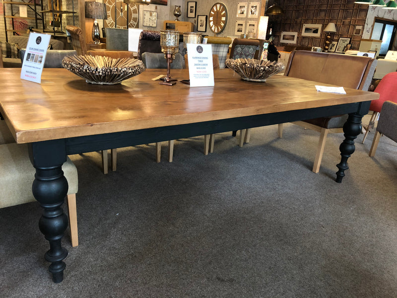"Boss Hex Round 1"" 1/4 Top Dining Table"