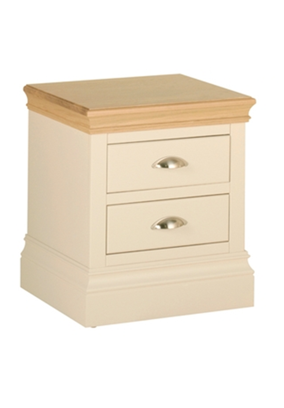 Minster 2 Drawer Bedside Table