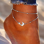 Silver Turtle Anklets