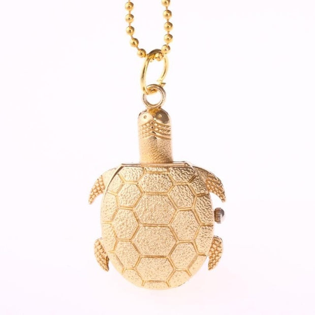 Turtle Shape Pocket Watch for Women/Men