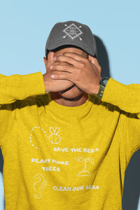 Save the Bees Plant More Trees Clean Our Seas | Blue River Boutique|