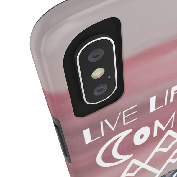 Live Life By A Compass Not A Clock iPhone Case | Blue River Boutique