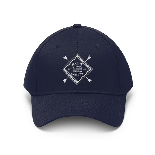 Happy Camper Embroidered Unisex Hat | Blue River Boutique