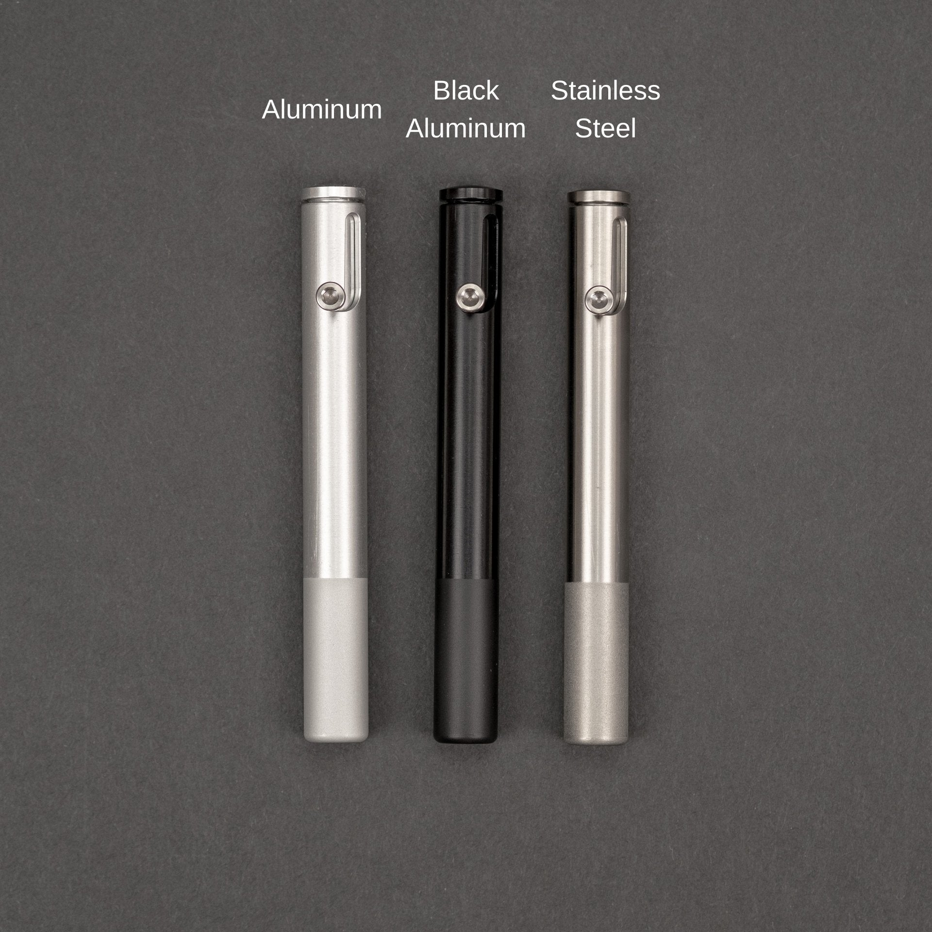 The Humboldt Pipe - Aluminum Black