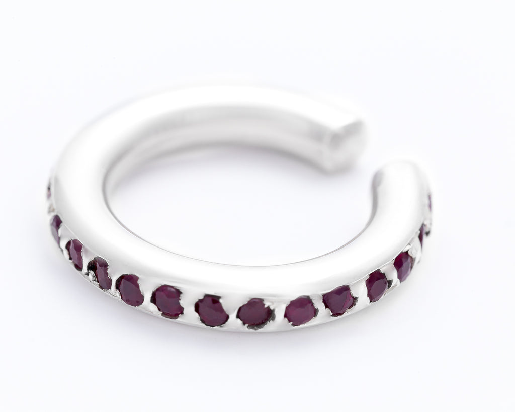 GALAXY EARCUFF RUBY