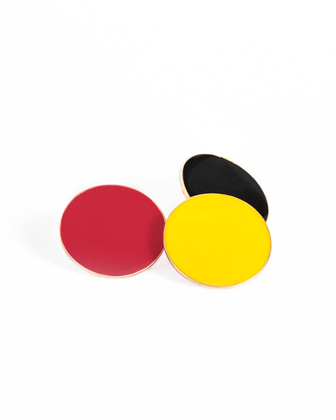 COLOR COIN EARRING