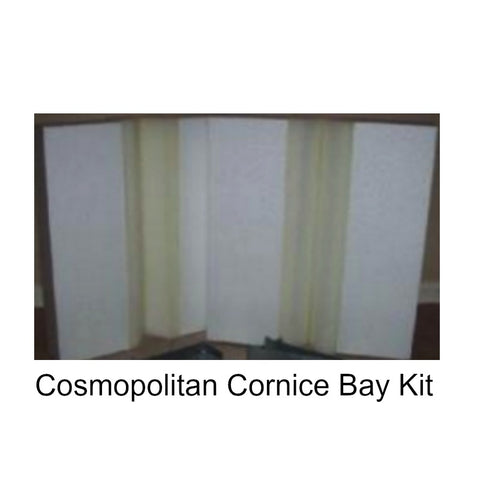 Cosmopolitan Cornice Bay Window Kit