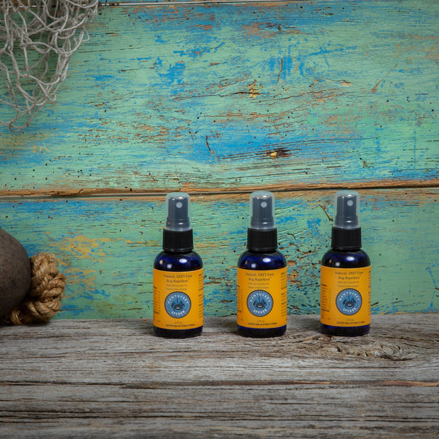 The Original. Natural Bug Repellent Travel Size 2 oz 3 Pack