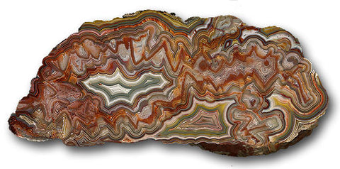 Pierre Agate crazy lace