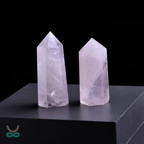 Quartz rose pointe