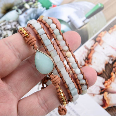 Bracelet Emotions en Amazonite - Bracelet