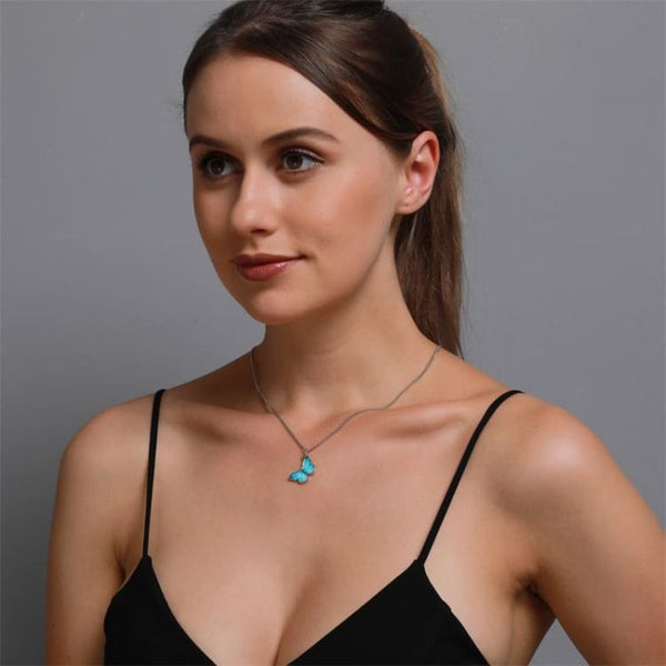 Collier 'Vol du papillon' - collier