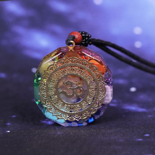 Collier Orgonite Loriginal 7 Chakras - Collier