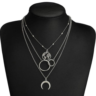 Ensemble de colliers stellaire - collier