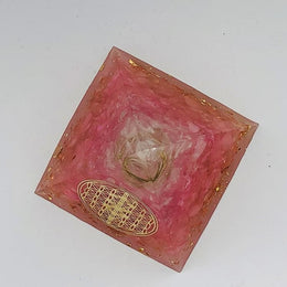 Pyramide Orgonite Amour & Douceur - decoration