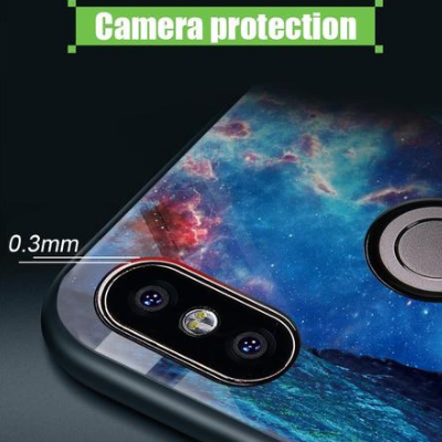 Superman Luminous Glass For Samsung Galaxy s8 s9 plus Note 9